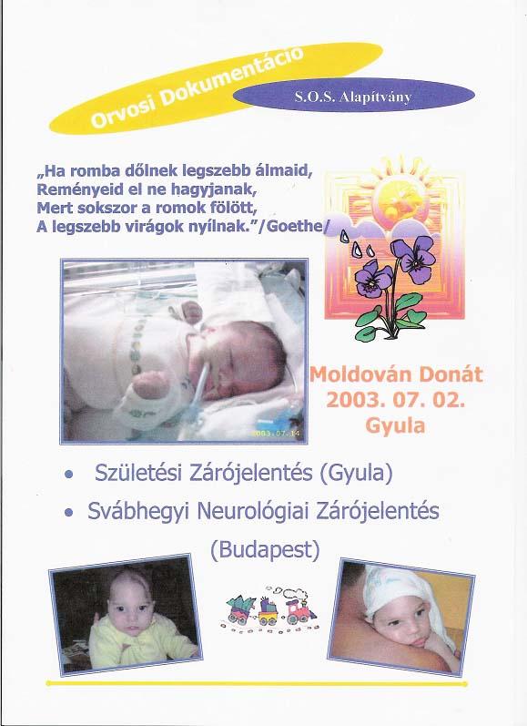 SOS Szolgálat Alapítvány Moldován Donát