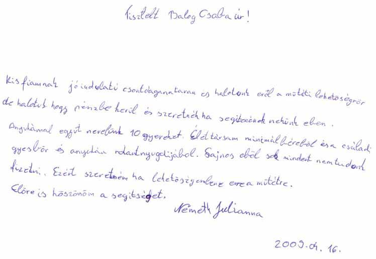SOS Szolgálat Alapítvány Petró Zoltán